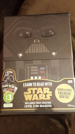 Brand New Learn to Read Star Wars 4 Book Set Sealed in the Plastic for Sale in Silver Spring, MD