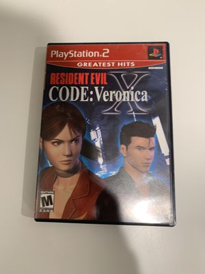 Resident Evil Code Veronica X PS2 for Sale in Garden Grove, CA