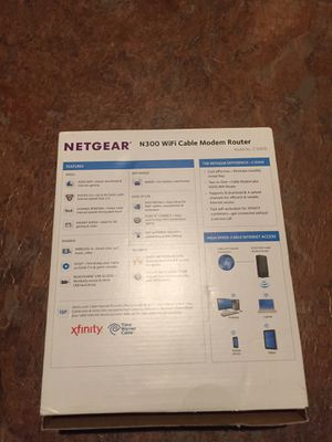 NETGEAR MODEM ROUTER for Sale in San Diego, CA