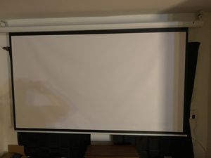 110 inch motorized home theater projector screen for Sale in Sunnyside, WA