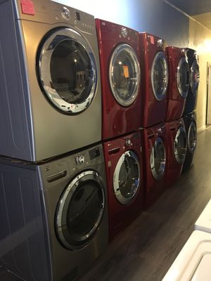 Front load washer and dryer set in excellent condition $599.00 & up for Sale in Baltimore, MD