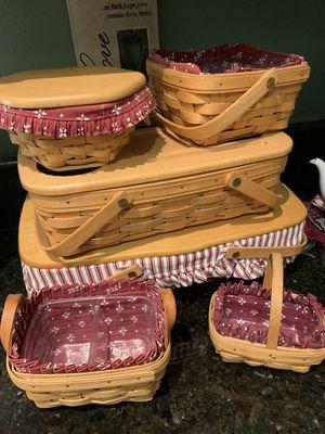 Longaberger baskets for Sale in Riverside, CA