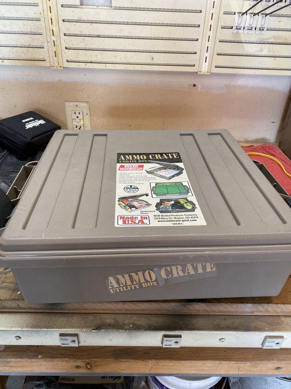 Ammo box and shell storage box's