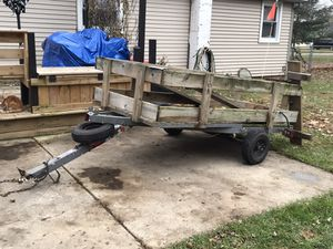 Tilt bed utility trailer for Sale in Charlotte, MI