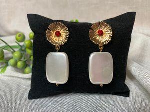 Dvacaman Designs Pendant Earrings for Women Metal Drop Earrings Statement Party Gifts Jewelry for Sale in Irvine, CA