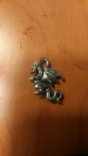 Silver Dragon Charm for Sale in San Antonio, TX