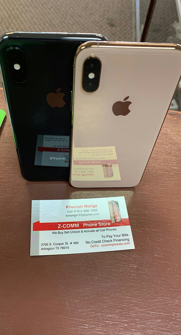 Apple iPhone XS 512Gb / 256Gb / 64Gb - Unlocked / AT AND T T-Mobile Verizon Sprint Starting @