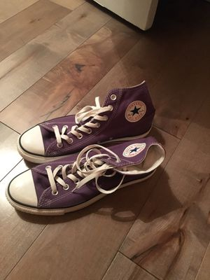 Purple High top Converse for Sale in Pittsburgh, PA