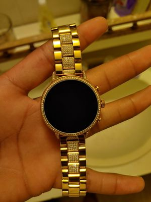 Fossil Venture 4 Rose Gold Smartwatch for Sale in Greenville, SC
