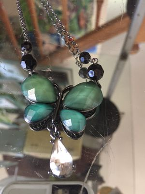 Butterfly necklace for Sale in Rancho Cucamonga, CA