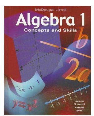 Algebra Concepts and Skills Textbook for Sale in Falls Church, VA