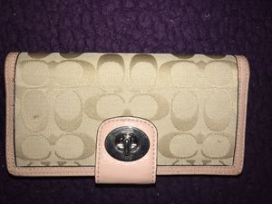 Coach wallet for Sale in Greensboro, NC
