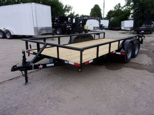 16x7 Utility Trailer BREAKS AND RAMPS Brand new for Sale in Lewisville, TX
