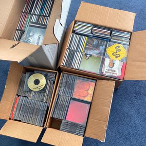 Music CDs - 5 Big Boxes Full for Sale in Honey Brook, PA