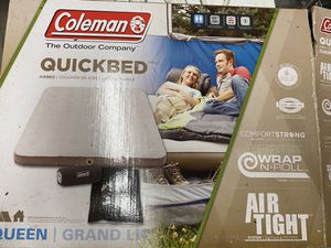 Coleman Queen Air mattress (have 2) for Sale in Woburn, MA