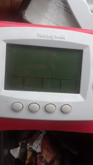 He will Honeywell thermostat Wi-Fi programmable 7 Day model number th6320wf 02 for Sale in Los Angeles, CA