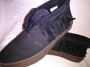 Clear weather Men's black canvas shoe for Sale in Las Vegas, NV