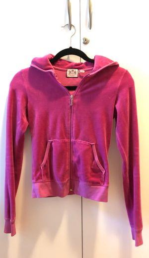 Pink Juicy Couture Zip Up Hoodie in XS for Sale in Oakland, CA