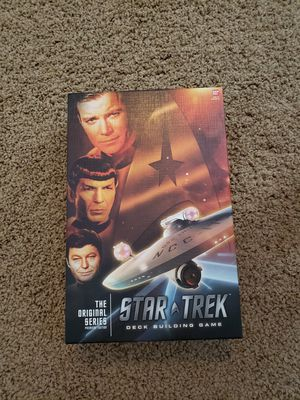 Star Trek Deck Building Game card game used, like new for Sale in Washington, PA