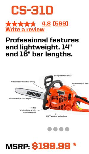 "Echo 14"" Chainsaw for Sale in Torrance, CA"