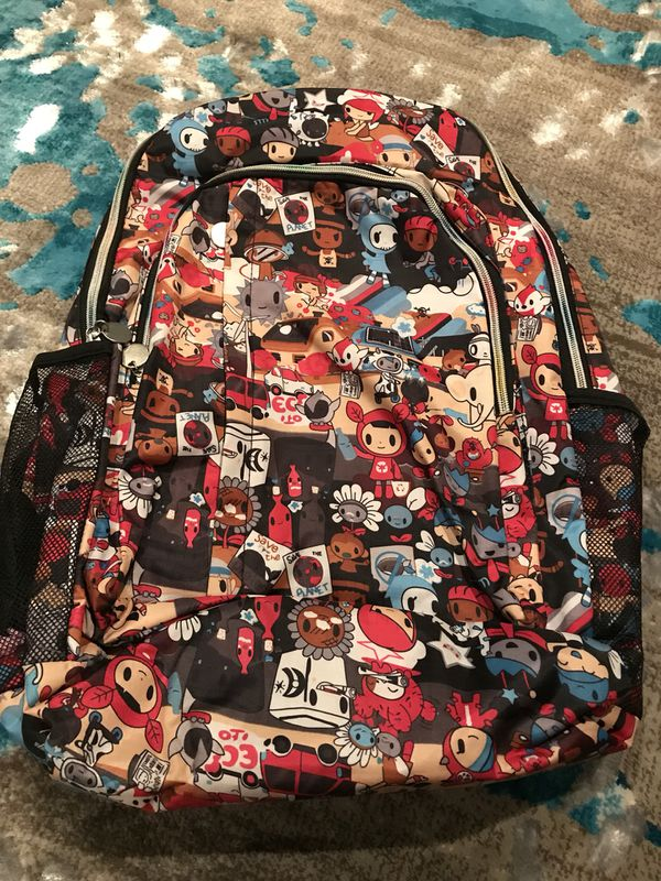 No brand laptop backpack