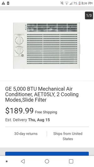 Ge window ac for Sale in Fresno, CA