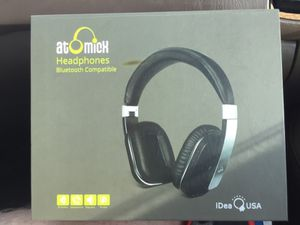 Atomic X Headphones (Bluetooth Compatible) for Sale in Tomball, TX