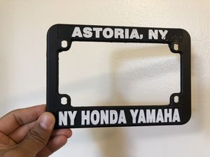Motorcycle license plate holder for Sale in New York, NY