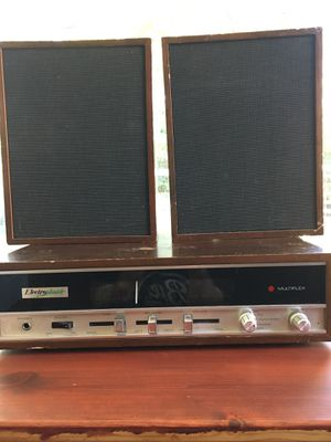 Vintage Electrophonic Stereo Receiver & Speakers for Sale in Portland, OR