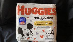 Huggies Snug & Dry diapers, size 4 for Sale in Layton, UT