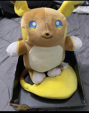Alolan Raichu Plush for Sale in Sacramento, CA