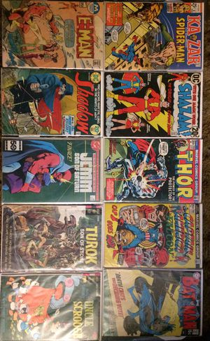 Mystery Comic Book Lot 1960-2000 Over 100 Comics for Sale in Corry, PA