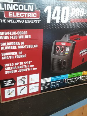 LINCOLN ELECTRIC PRO-MIG 140 FLUX CORED WELDER for Sale in Aurora, CO
