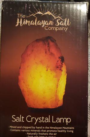 Salt Crystal Lamp by The Himalayan Salt Company for Sale in STRATHMR MNR, KY