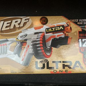 Nerf Ultra One Motorized Blaster, Includes 25 Nerf Ultra Darts for Sale in San Leandro, CA