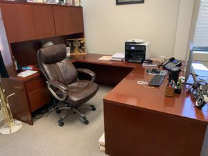 Complete office desk . Can sale separate if needed for Sale in Richmond, CA