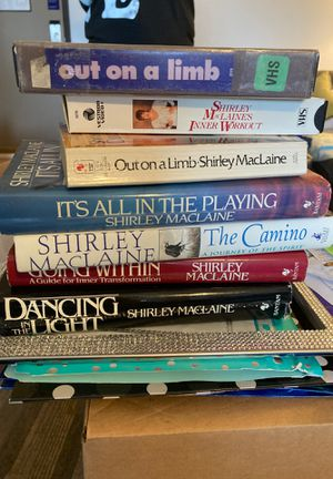 Shirley MacLaine Books and VHS for Sale in Golden, CO
