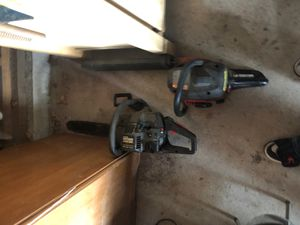 Craftsman chainsaws for Sale in Shirley Center, MA