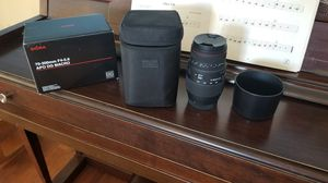 Sigma 70-300mm F4-5.6 APO DG Macro lens for Sony for Sale in La Mesa, CA