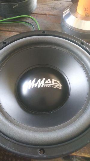 "Mmats p2 10"" subwoofer for Sale in Port St. Lucie, FL"