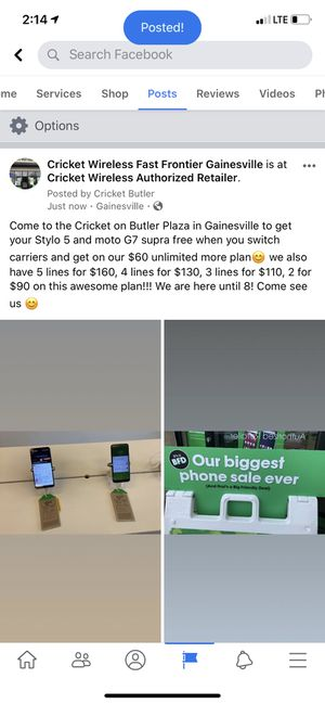Stylo 5 & Moto G7 Supra for Sale in Gainesville, FL