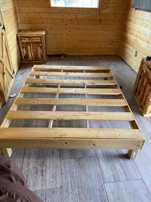 Bed frame full for Sale in El Paso, TX