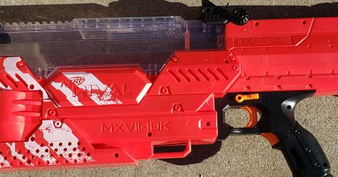 Nerf Rival Nemesis Red Team for Sale in Sacramento,  CA
