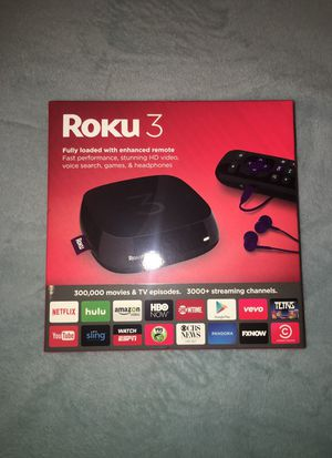 Roku 3 New for Sale in Los Angeles, CA