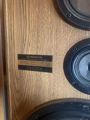 Pioneer cs-g304 speakers w/ denon receiver for Sale in Tempe, AZ