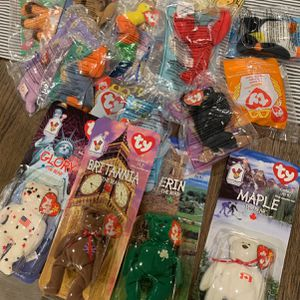 McDonalds Beanie babies Collection (16 In Total) 1998 for Sale in Phoenix, AZ