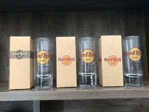Collection of Hard Rock Cafe Glassware for Sale in Vancouver, WA