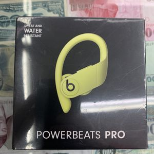 Powerbeats Pro Yellow New for Sale in East Los Angeles, CA