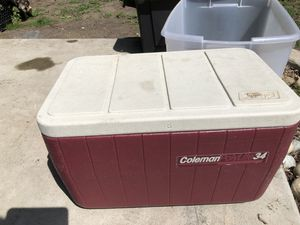 Coleman cooler for Sale in Fresno, CA