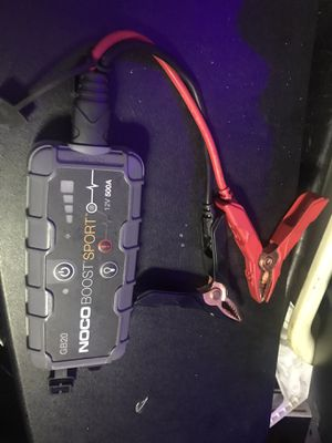 NOCO PORTABLE JUMP START BATTERY PACK for Sale in Montclair, CA